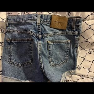 Calvin Klein Denim Shorts (Women)